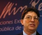 Canciller Bruno Rodríguez Parrilla