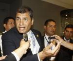Rafael Correa nel Vertice Ibero-americano