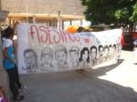 Manifestazione dei famigliari delle vittime del golpe in Honduras