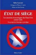 versione francese del libro di Salim Lamrani contro il bloqueo