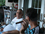 Renè e Roberto a Miami, nell'ottobre del 2011