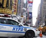 Auto della polizia a New York