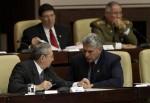 Raul Castro e Miguel Diaz-Canel