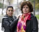 Adriana Perez (s) e Olga Salanueva (d)