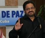El comandante Iván Márquez, jefe del equipo negociador de las FARC-EP. Foto: Ismael Francisco/Cubadebate.