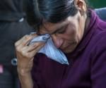 La guatemalteca Cipriana Juarez, prostrata a letto, ha segnalato che suo figlio Gilberto le ha detto che voleva guadagnare denaro per aiutarla. Foto: LUIS SOTO/AP
