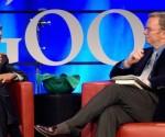 Eric Schmidt con Barack Obama