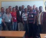 foto della Brigata Medica Cubana in Liberia per combattere il virus dell'Ebola