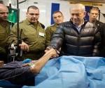 Il Primo Ministro dell'Israele, Benjamin Netanyahu, ha reiterato il suo appoggio ai gruppi terroristici che operano in territorio siriano. Foto: SANA