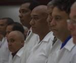 Nell'atto di riconoscimento per i medici cubani che lottarono contro l'Ebola, presieduto da Josè Ramon Machado Ventura, sono stati decorati con l'Ordine Carlos J. Finlay 248 membri del contingente per i meriti raggiunti nel compimento del dovere