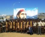 Pintura-de-Fidel-en-Escuela-namibia-580x461