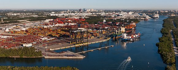 Porto di Everglades, in Florida.Foto:Florida Ports Council