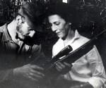 Fidel Castro con Celia Sanchez