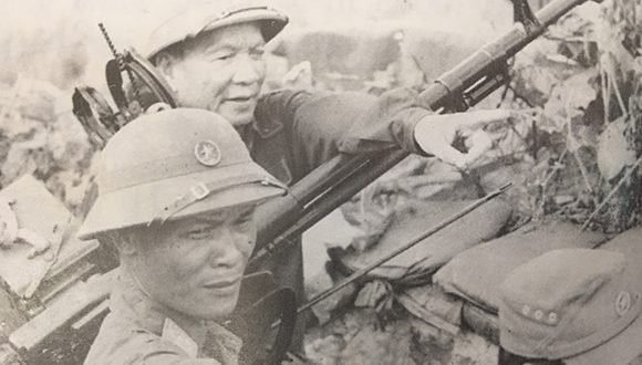 Il generale Le Duc Anh, uno dei comandanti della campagna di Ho Chi Minh. Foto: Thanhnien.vn