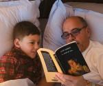 Carlos Lazo e suo nipote