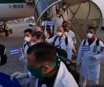 Arrivo della Brigata Medica Cubana in Italia