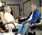 Fidel Castro con Frei Betto