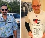 Il Dr. Manuel Tejeda, che ha avuto l'idea e il concetto di questo Movimento contro il Bloqueo, a sinistra, e il Prof Carlos Lazo, anche lui uno dei leader di questa iniziativa, che da tempo si batte contro la politica aggressiva del bloqueo.